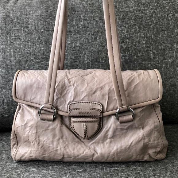 1165c77caa6d Prada Bags | Authentic Handbag Lambskin Leather 1 Of 2 | Poshmark